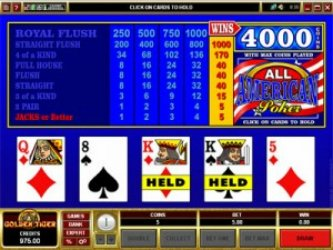 GoWild Video Poker