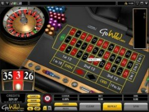 GoWild Casino Roulette